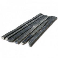 Piquets-bordures Ardoise/Schiste noirs Longueur 100 cm