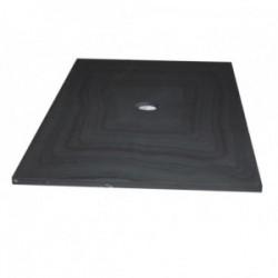 Bac à douche en Ardoise Noire 1000x1000x30 mm