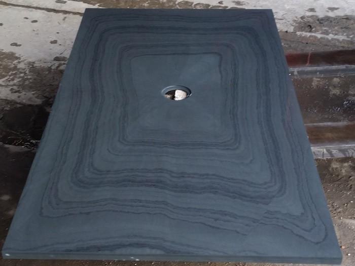 Bac à douche en Ardoise Noire 1200x900x30 mm