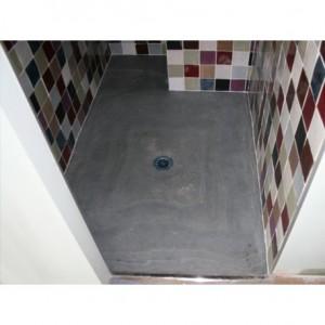 Bac à douche en Ardoise Gris vert 1200x900x30 mm