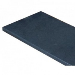 Dessus de Mur en Ardoise Noire 1000x330x20 mm