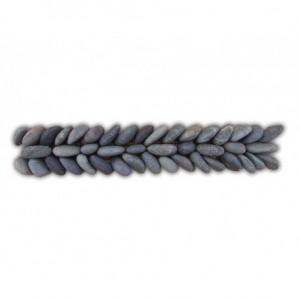 Frise épi n°1 en Calades 300x50mm noir