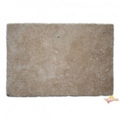 Dalle en Travertin Turc 610x406x12mm MIX (beige nuancé) 1er choix