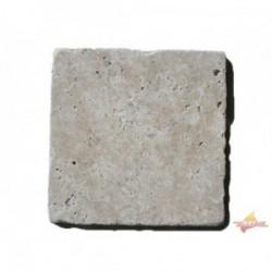 Dalles Travertin 20x20x1.2 cm 1er choix Mix