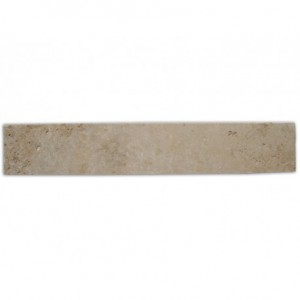 Plinthe en Travertin Turc 400x80x12mm MIX (beige nuancé)