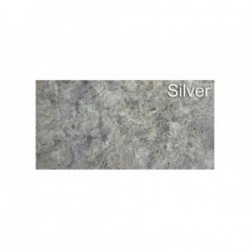 Dalle en Travertin Turc 610x406x12 mm SILVER 1er choix