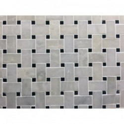Mosaïque Blanc 295x290 Marbre Premier choix