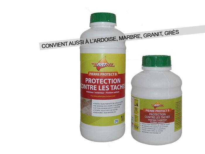 PROTECT B Pierre, Ardoise, Marbre, Granit, Grès en bidon de 5 litres