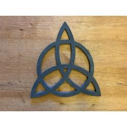 Croix Celte 28cm en Ardoise Noire - Décoration