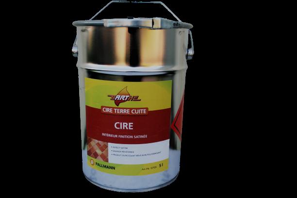 CIRE TERRA COTTA en bidon de 5 litres