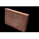 Brique moulée 42x28x5 cm Rouge surcuit