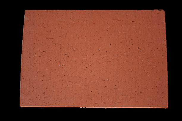 Brique Pleine finition arrachée / Foraine 40x28x5cm Rosé-Rouge