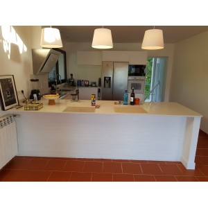 Plan de Cuisine en Silestone Iconic White