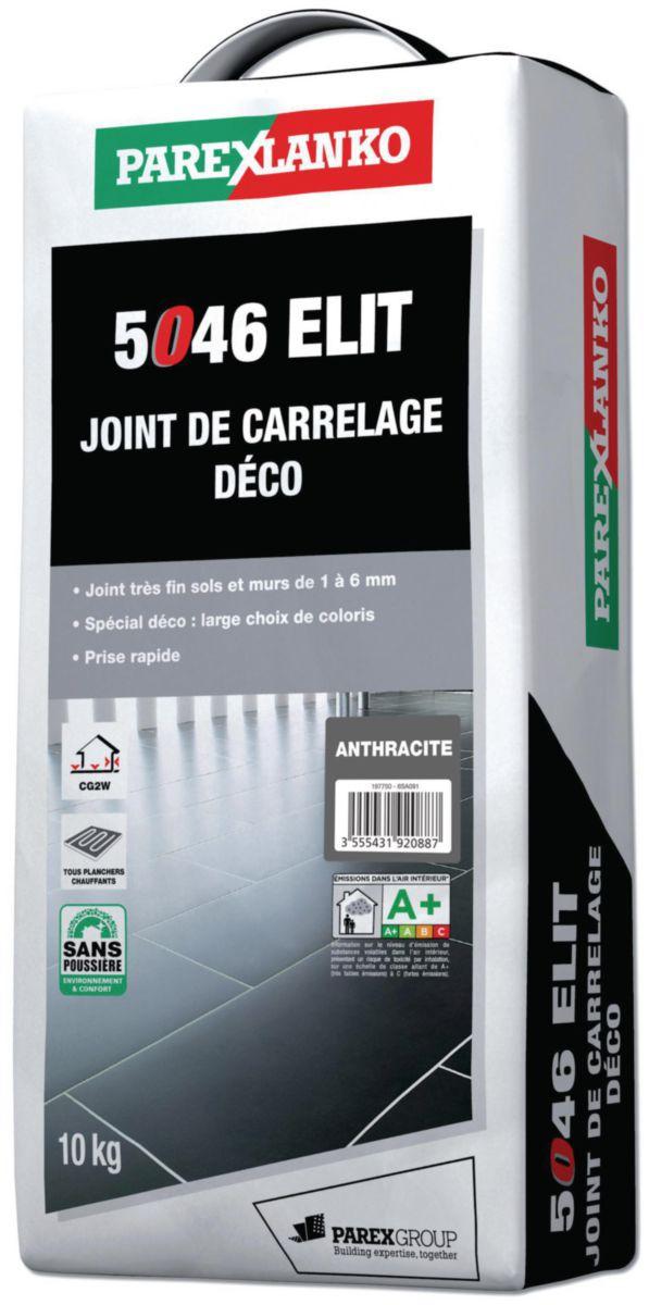Joint Déco Joint Fin couleur 1 à 6 mm Elit Anthracite