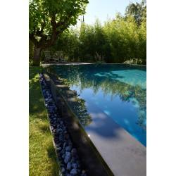 Margelle de piscine en Ardoise
