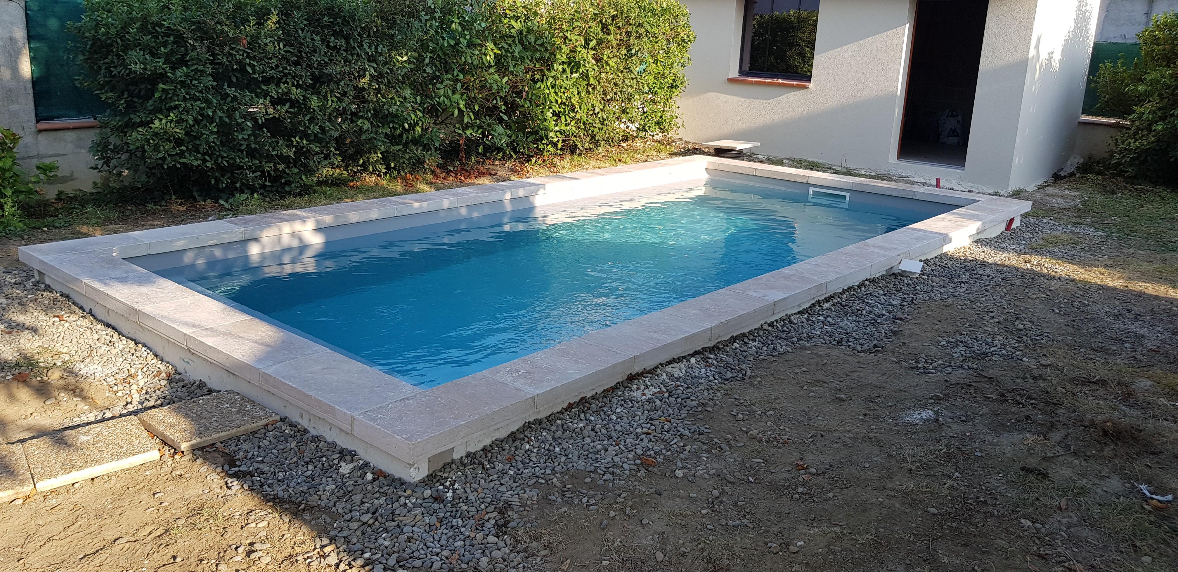 margelle de piscine 61x33x8 cm Mix 1er choix