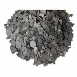 Paillettes d'Ardoise Noire 10/40 en big bag de 350 kg