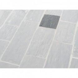 Paillis de Schiste Noire 800x500x30 à 70 mm