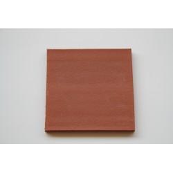 Carreaux terre cuite lisse rouge 19.2x19.2x1.3 cm