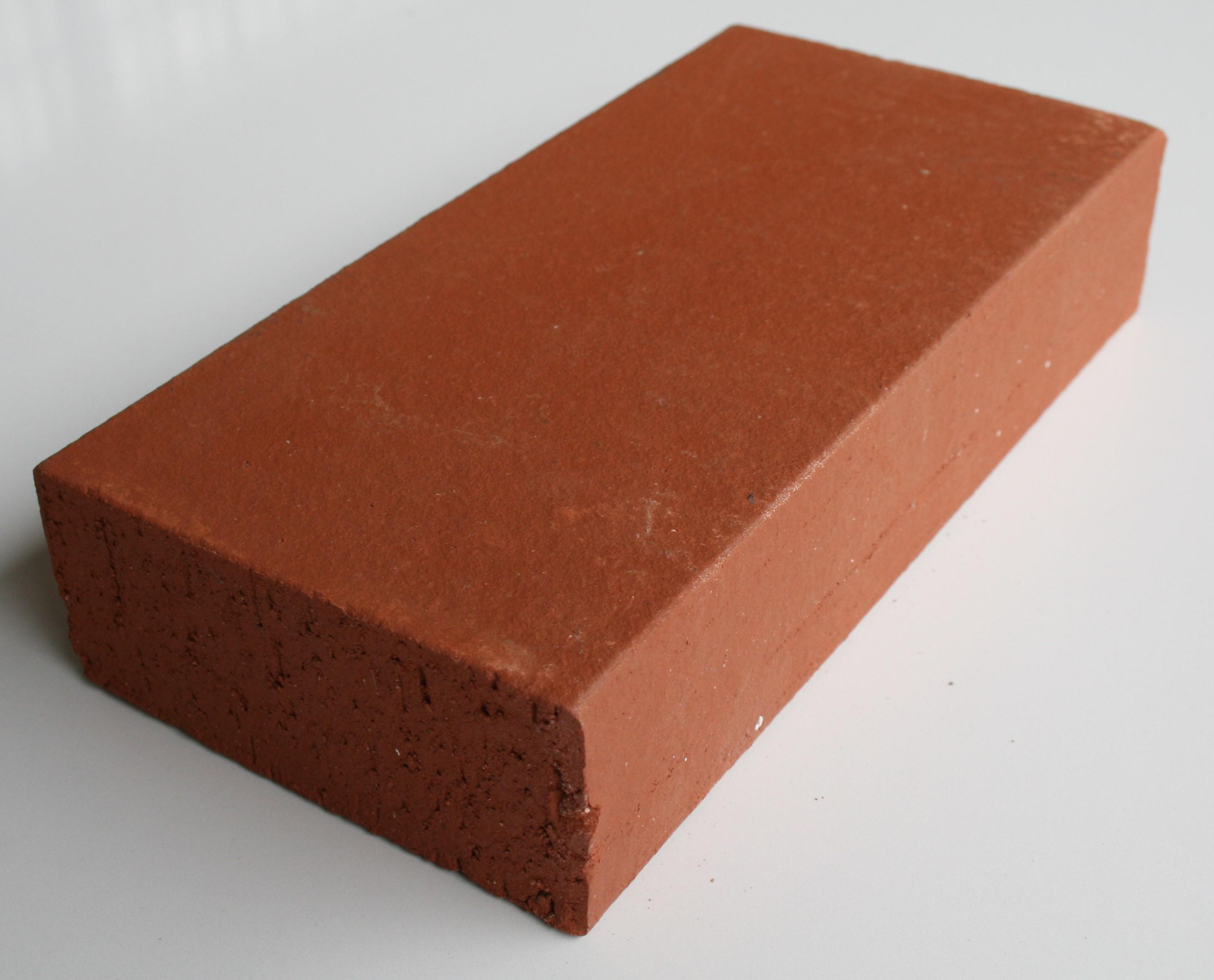 Brique pleine 22x11x5 cm Lisse rouge Réfractaire